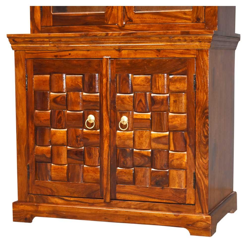Prisma Kitchen Cabinet Solid Sheesham Wooden