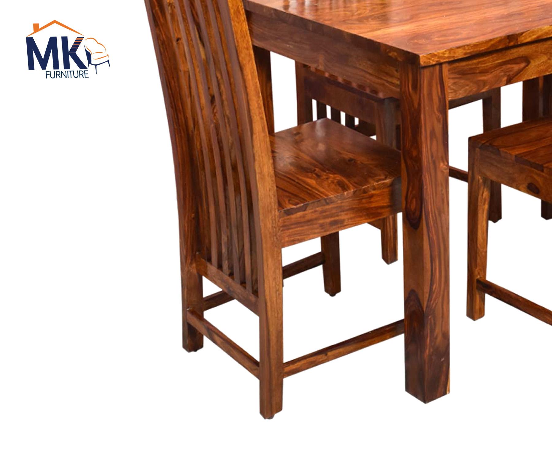 Patron Solid  Sheesham Wood Four Seater Dining Set