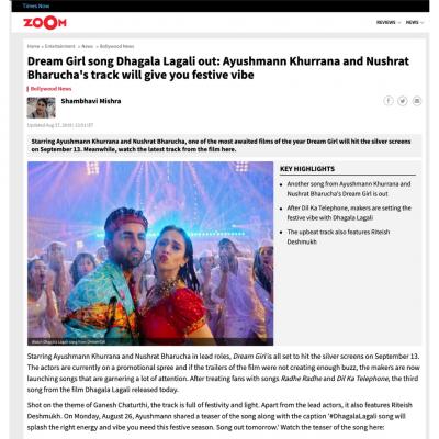 Timesnow News | Costume for Ayushmann Khurrana