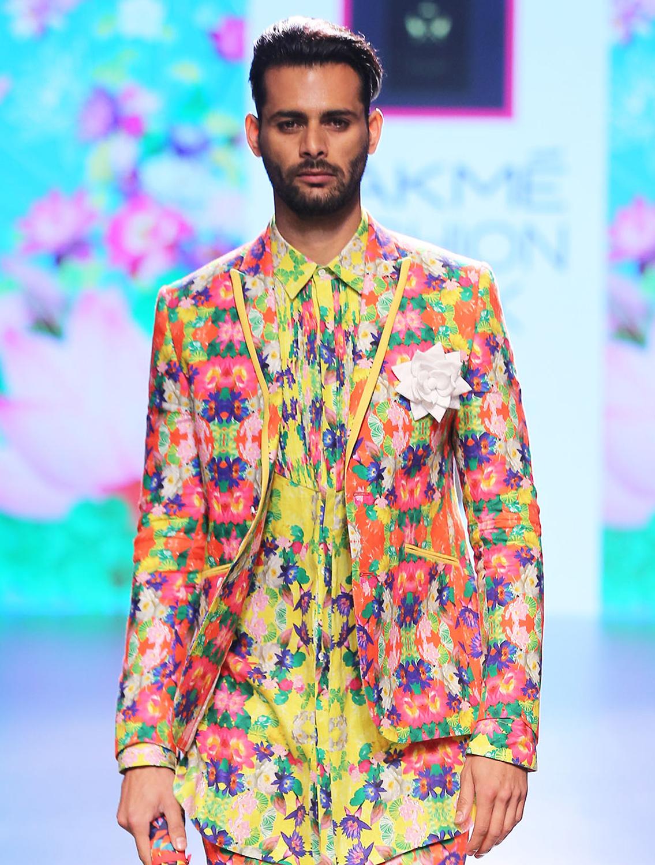 Shatabj Linen Jacket