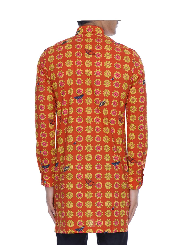 Sheroz Printed Long Shirt