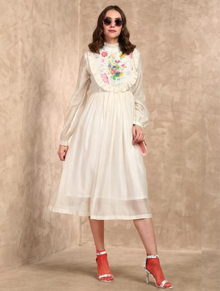 Alia Lightweight Handloom Cotton Dress