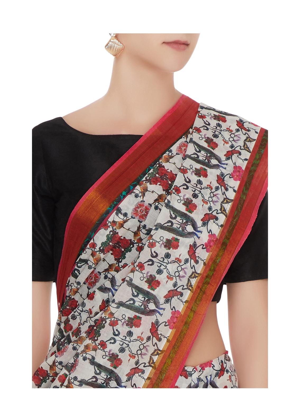 Perizaad Handloom Cotton Saree