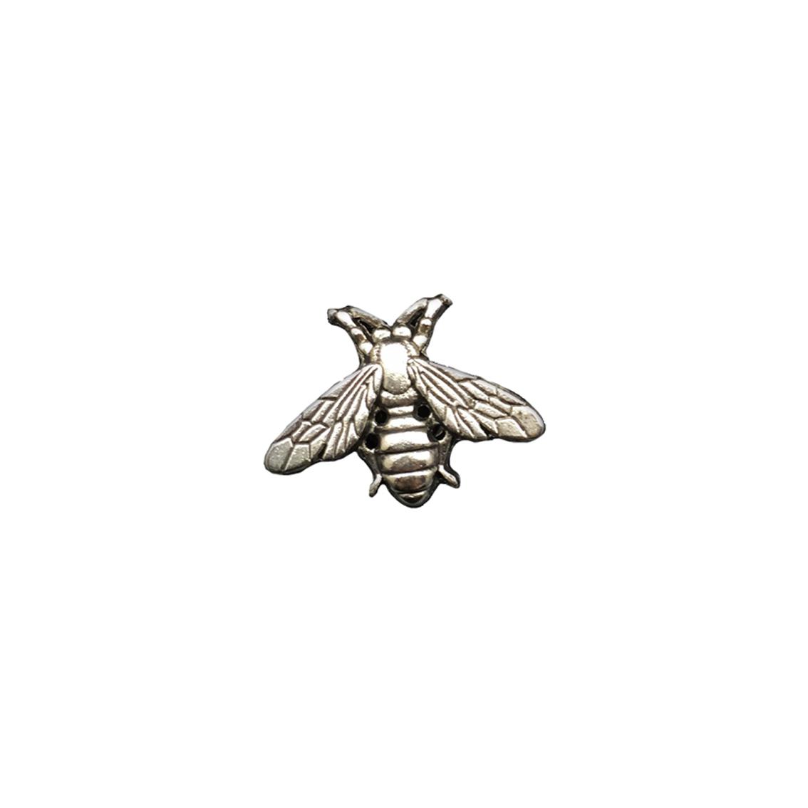 Silver Bee Brooch