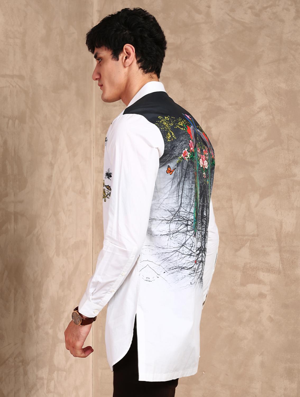 Pavo Printed Shirt