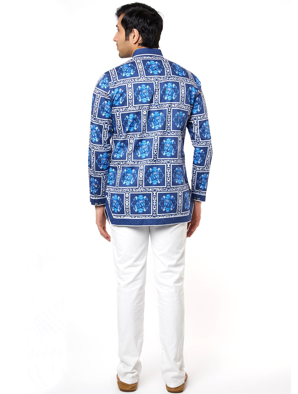 Blueleo Hem Striper Shirt