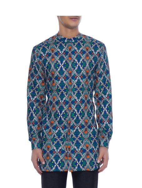Rewa Linen Kurta Style Shirt