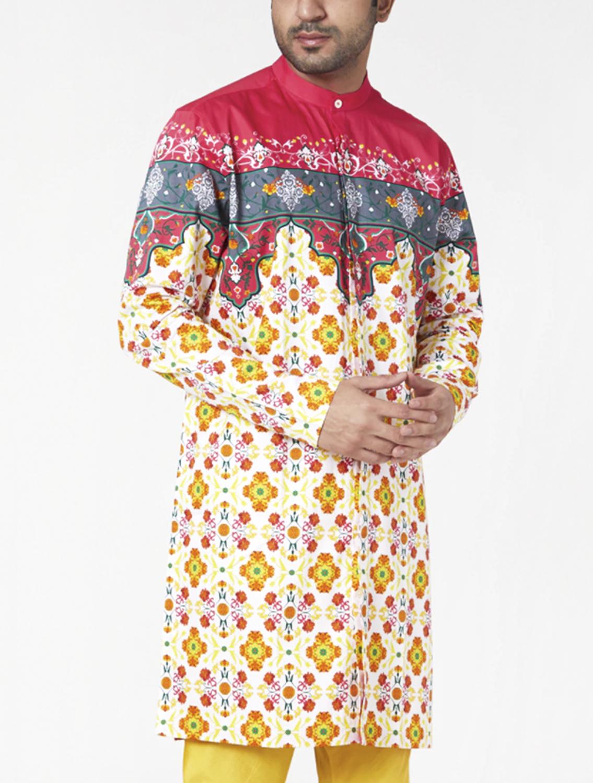 Kashi Printed Kurta Pyjama Set