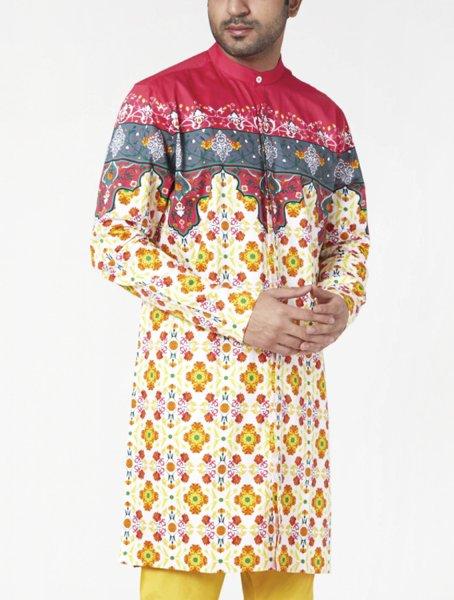 Kashi Printed Kurta Pyjama