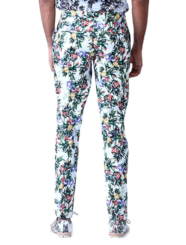 Milne Leaf Printed Trousers