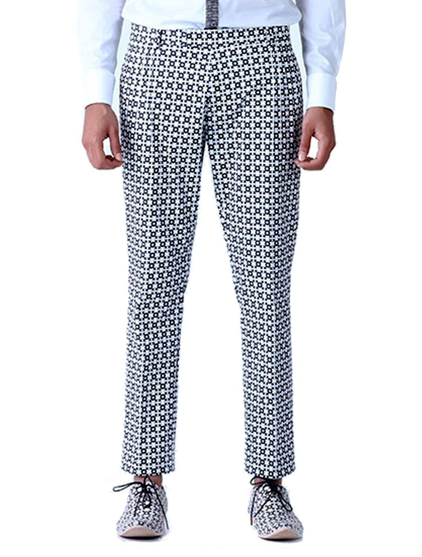 Keaton Slim Printed Trousers