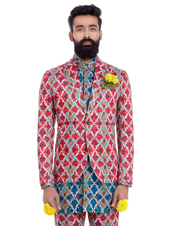 Kumbh Red Blazer