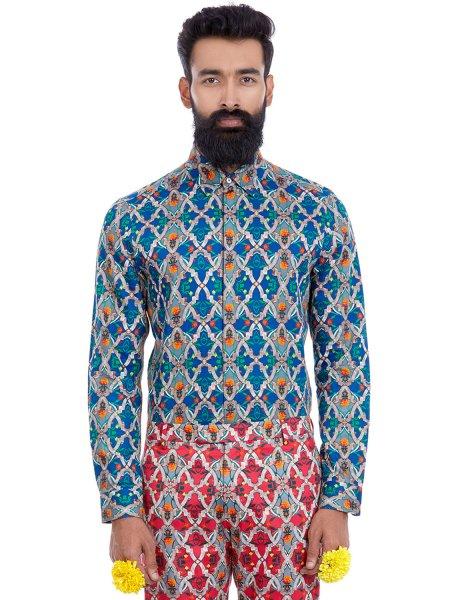 Rudra Printed shirt