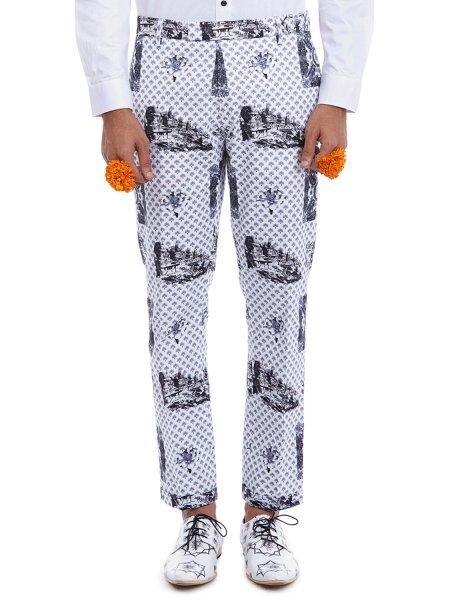 Mukt Printed Trousers