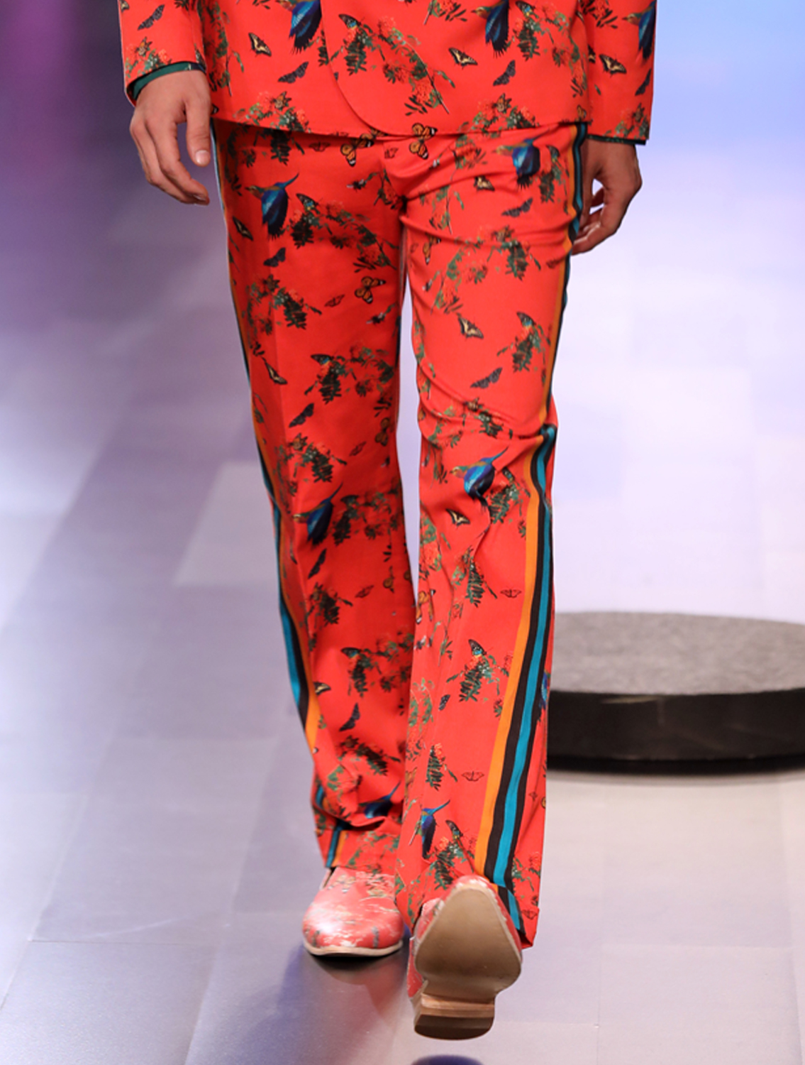 Pench Printed Trousers