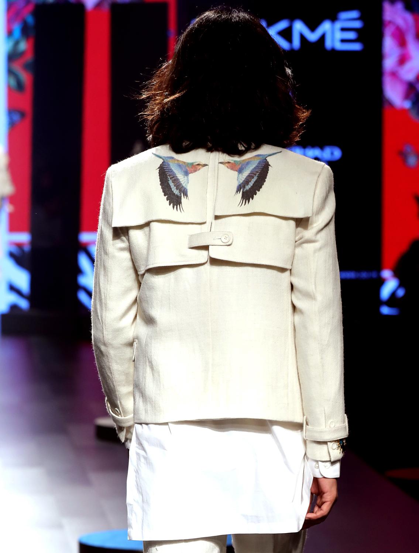 Corbett Merino Wool Crop Jacket