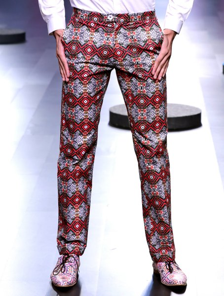Leopard All-over Printed Trousers