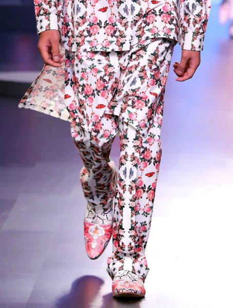 Hyena Printed Trousers