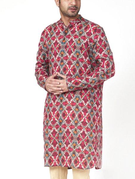 Rudraksh Linen Kurta Pyjama