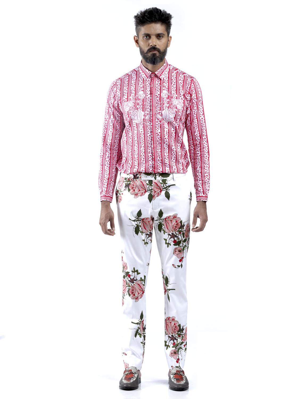 Garden Gulab Printed Shirt