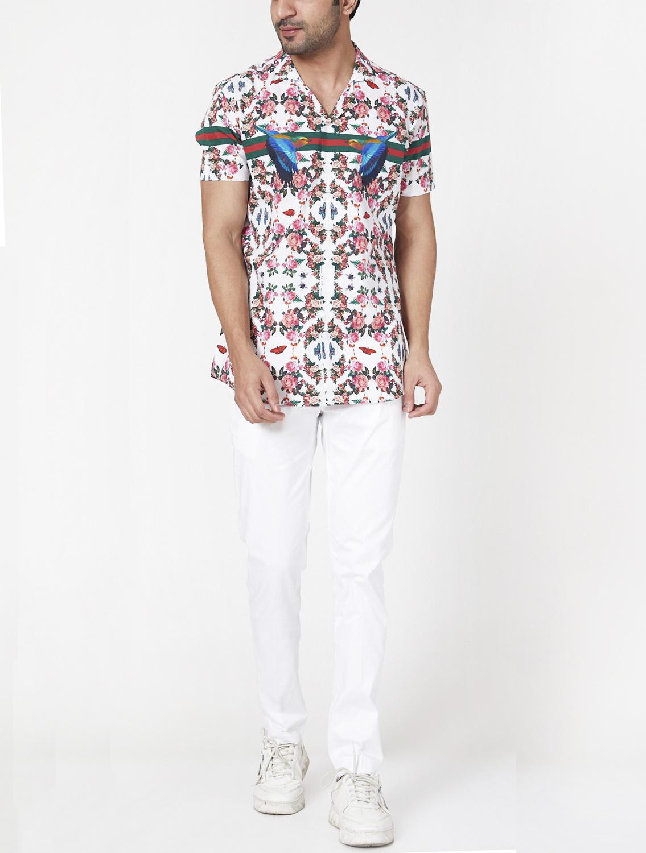 Peehan Cuban Collar Shirt