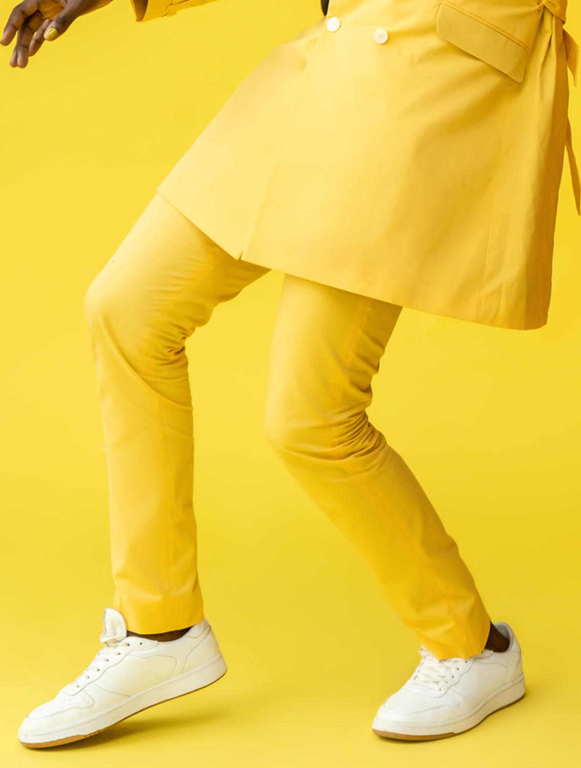 Paradise Yellow Trousers