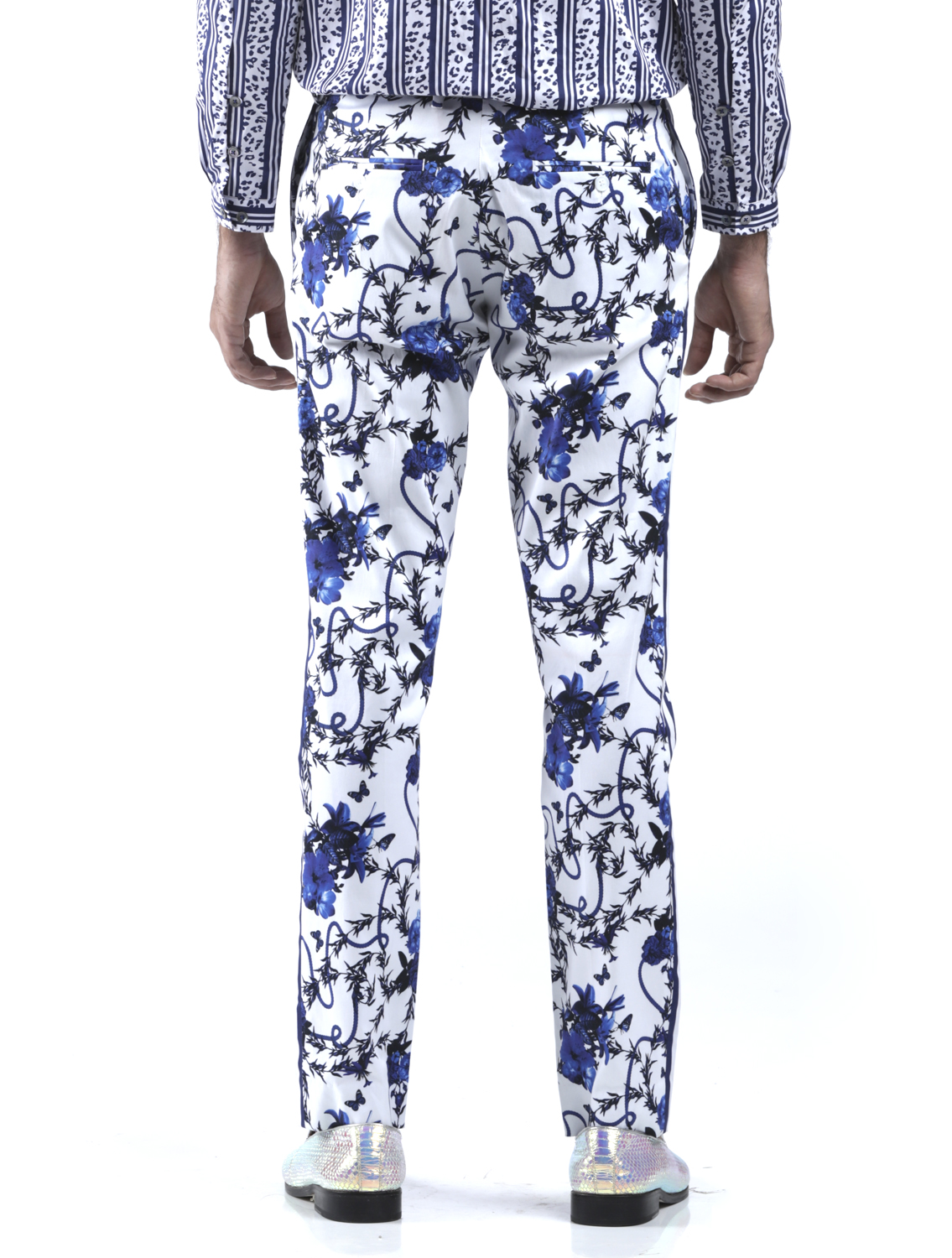 Firdaus All-Over Printed Trousers