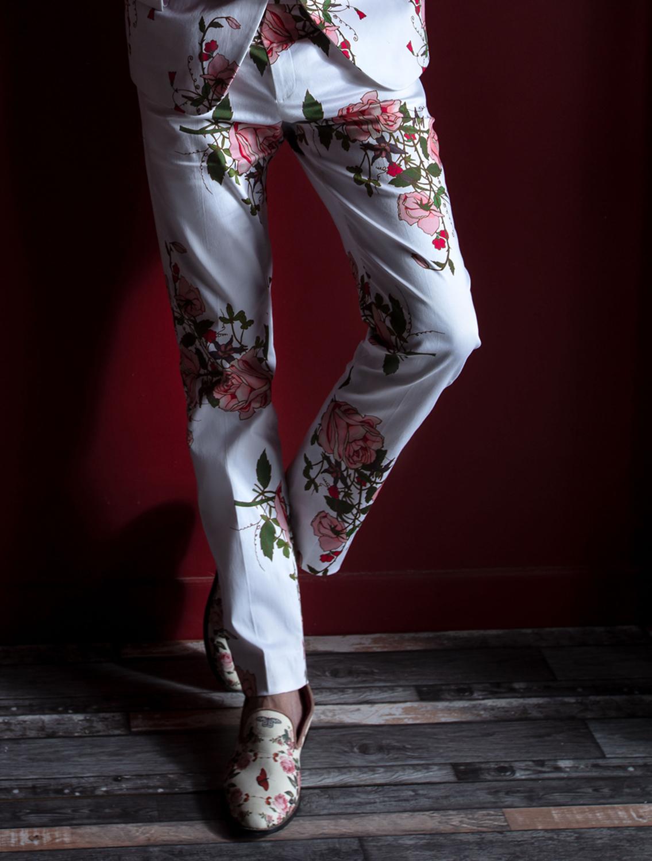 Jannat Floral Printed Trousers