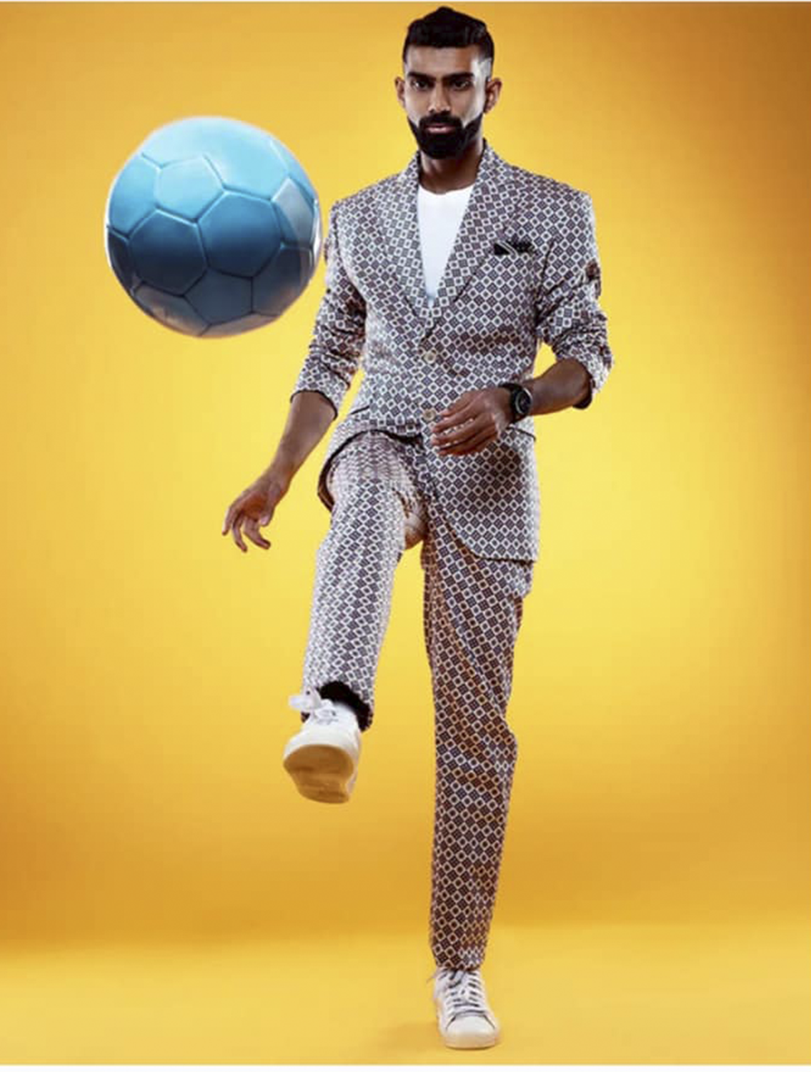 Chequered Suit