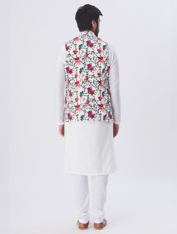 Falaq Linen Waistcoat