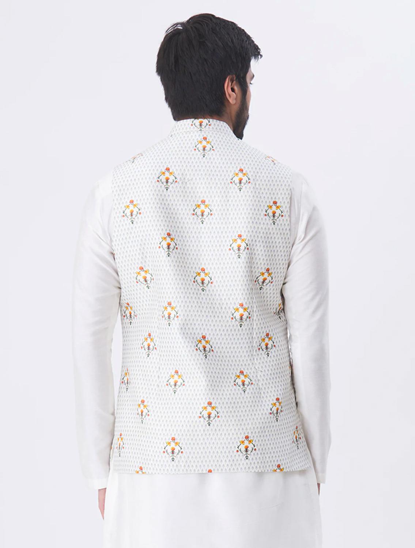 Shwet Silk Linen Waistcoat