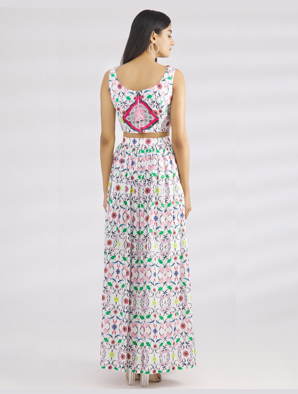 Komoljeet Linen Skirt