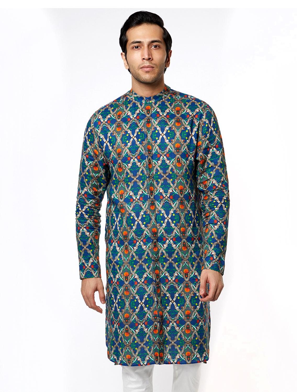 Rewa Linen Kurta Pyjama