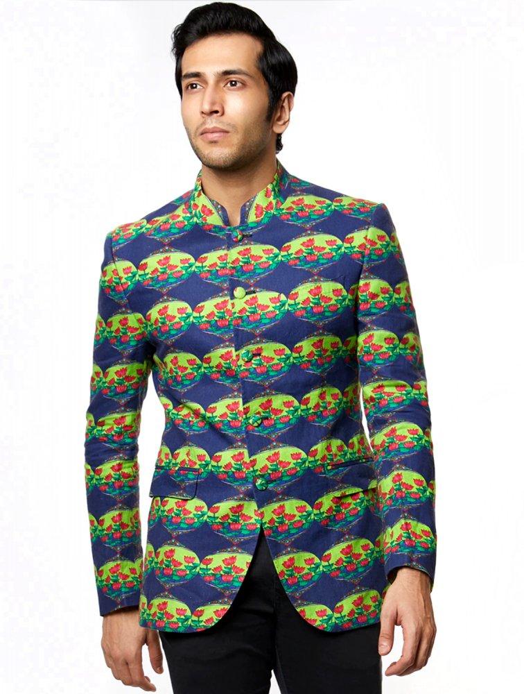 Rajah Lotus Bandhgala Jacket