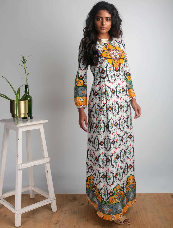 Devi Long Maxi Dress