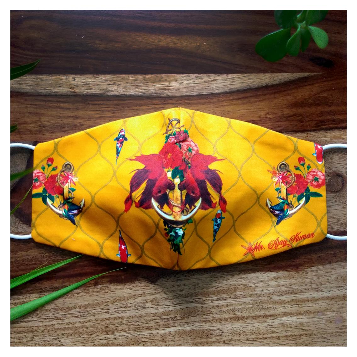 Yellow Anchor Mask