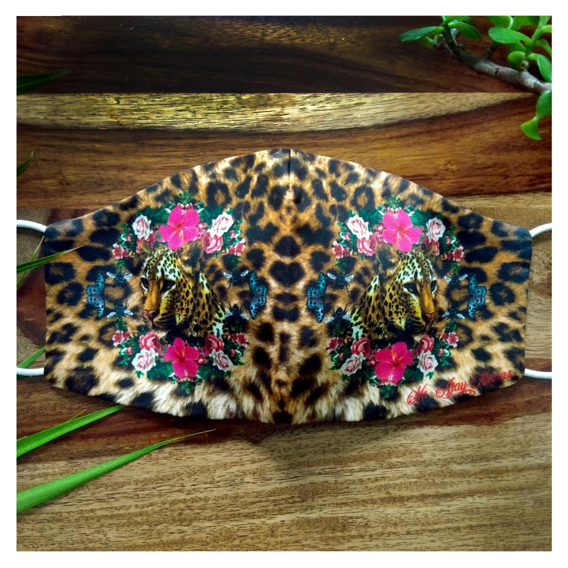 Leopard Printed Mask
