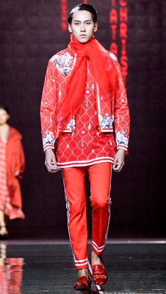 Harbin Fashion Week 2019 Red Look