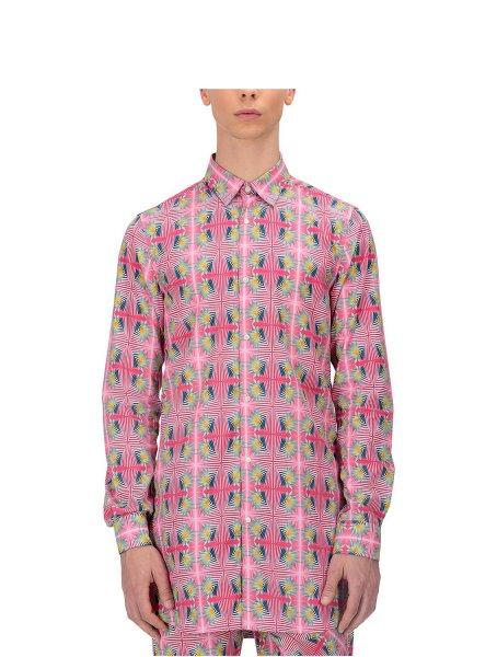 Puskar Printed Long Tunic Shirt
