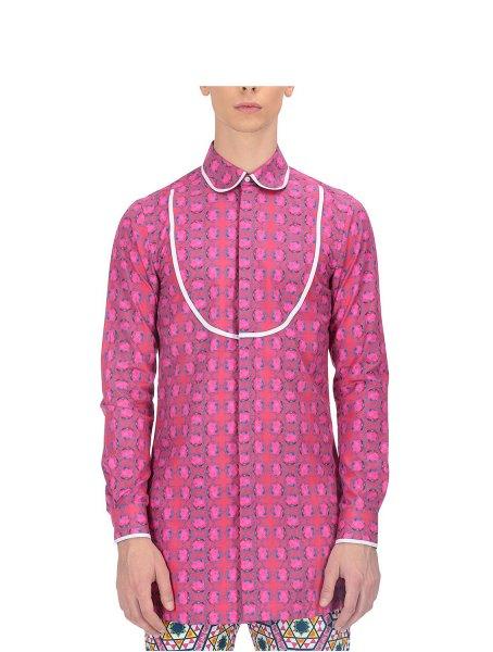 Lian Fuchsia Bib Shirt