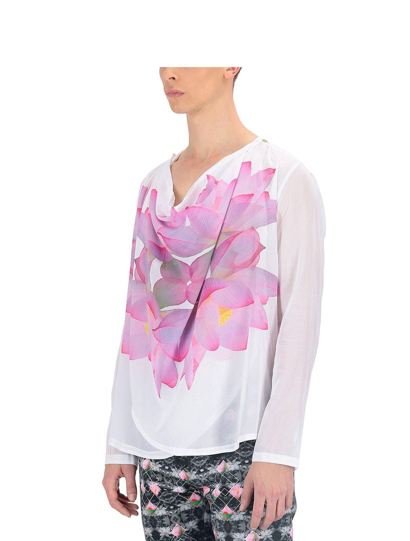 Hamsa Double Cowl Shirt
