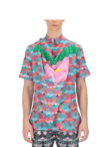Rajoy Multicoloured Cowl Shirt