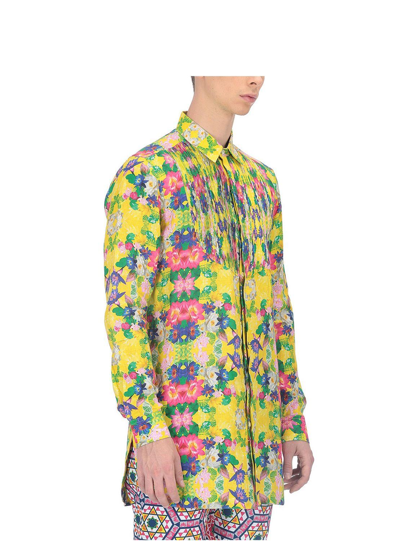 Diospyros Pintuck Linen Shirt