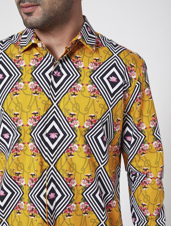 Diagon Luxe Cotton Shirt