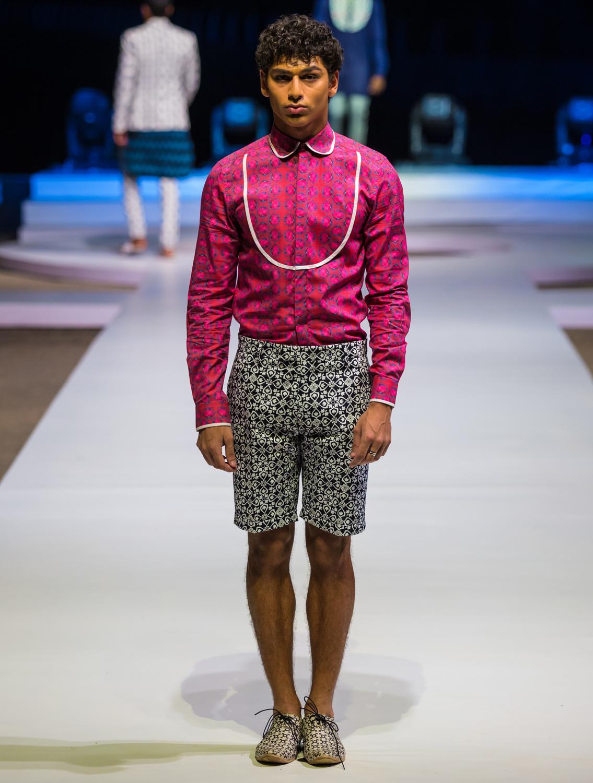Carlton Printed Shorts