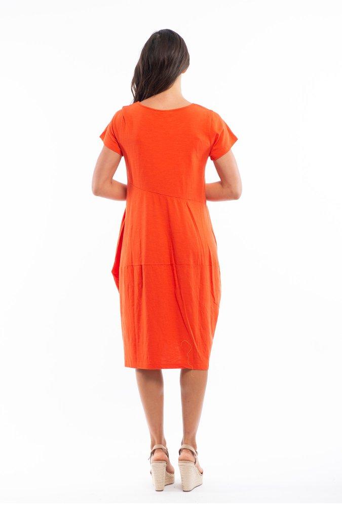 Josie Dress in Red Glow