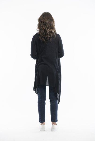 Black Knit Wrap