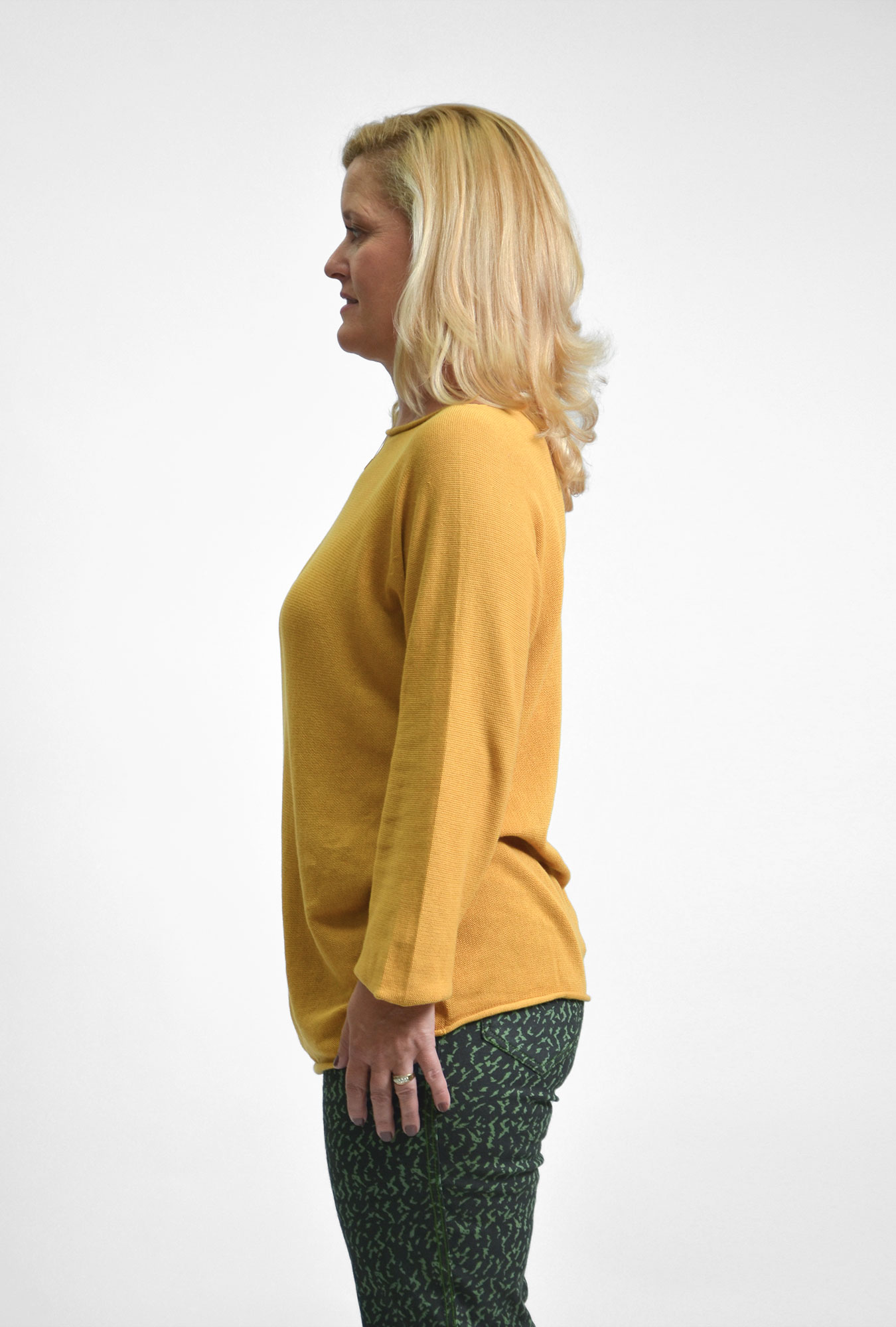 Gold Long Sleeve Knit