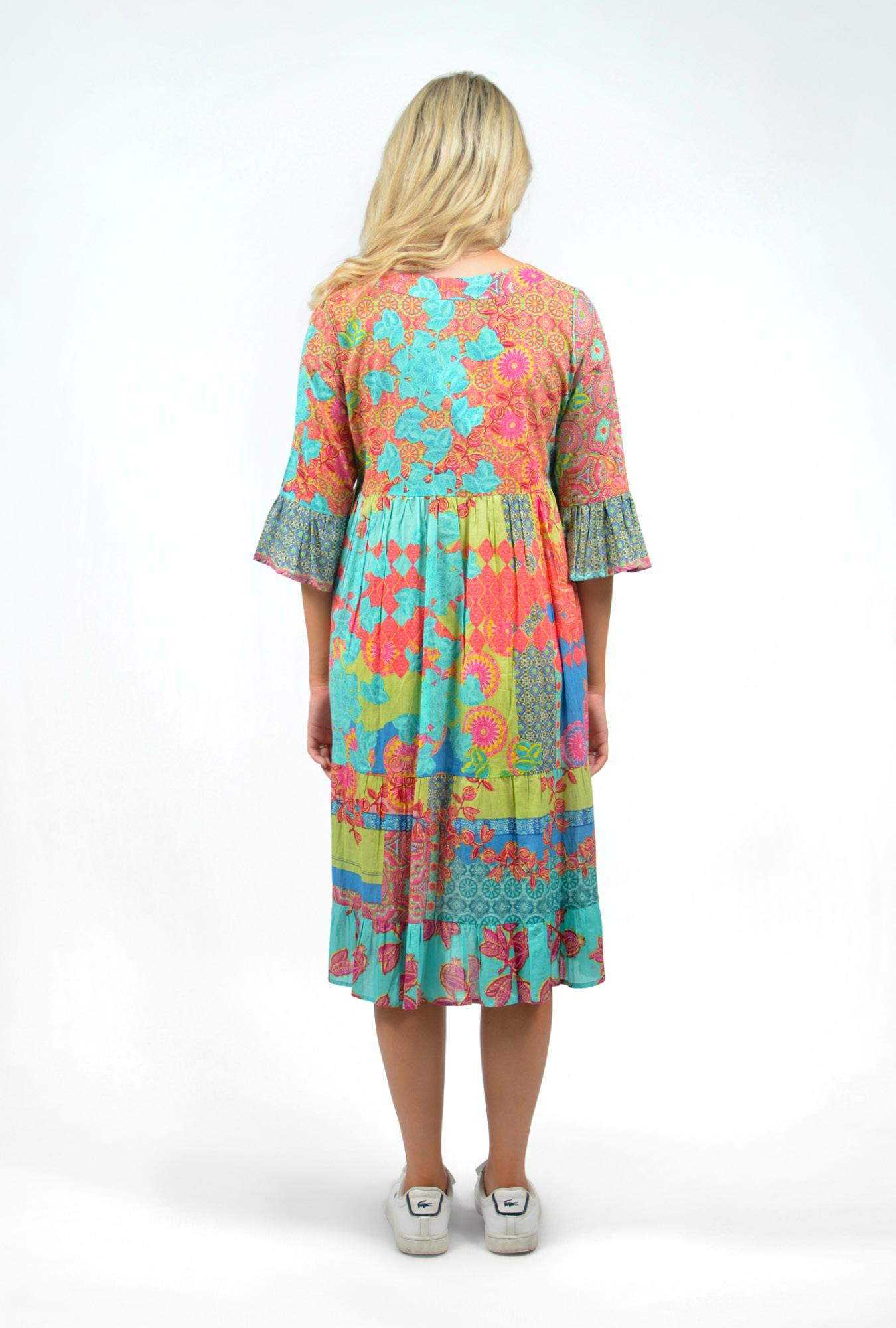 Olivia Dress in Barbaroux