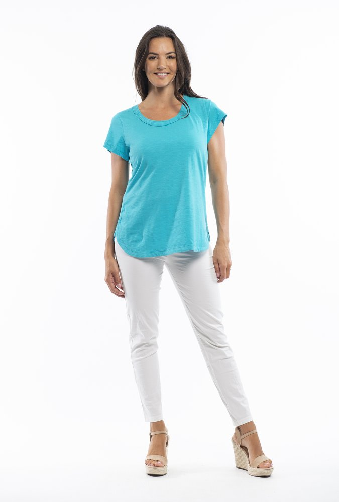 Holly Tee in Turquoise